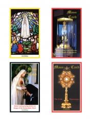 Fatima Mass Card Sets